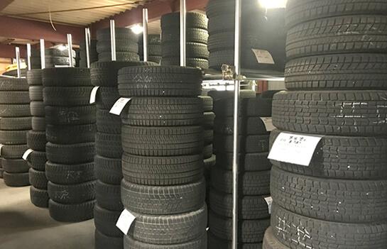タイヤ保管サービス(ご購入いただいた方限定)